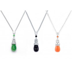 Jade Set 2 Necklace